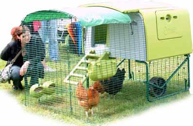 plastic chicken coop