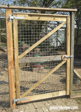 chicken run gate