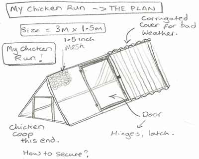 my chicken run design