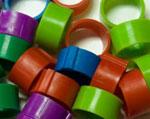 plastic leg rings