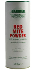 Red Mite Powder